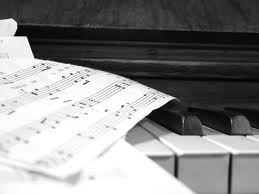 piyano ve nota